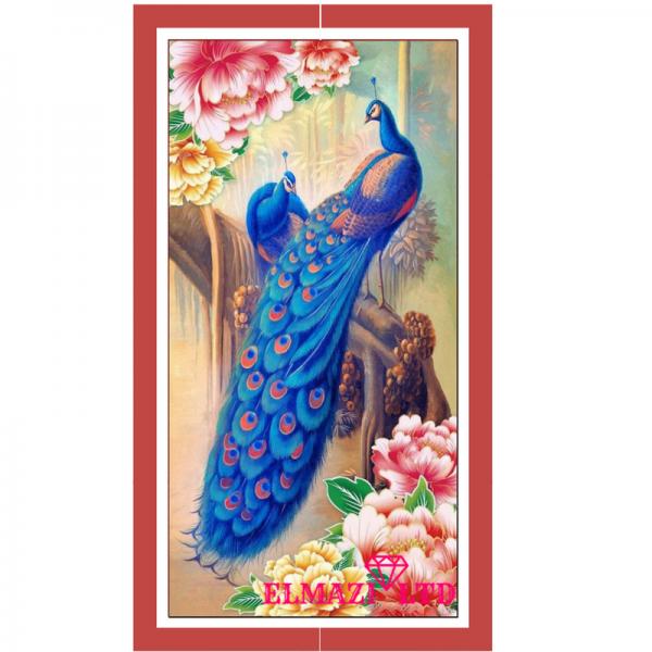 Елмазен Гоблен - Идилия в синьо