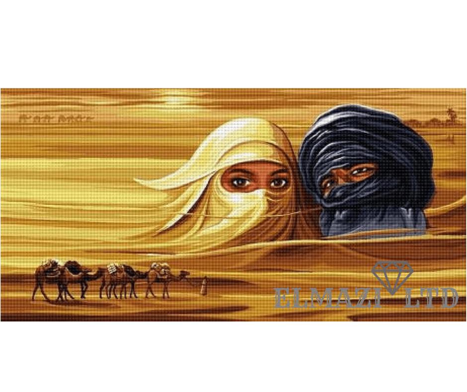 """Диамантен Гоблен """"САХАРА"""" №365"""