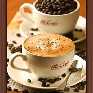 Диамантен гоблен, чаша ароматно кафе,диамантени гоблени ,разни