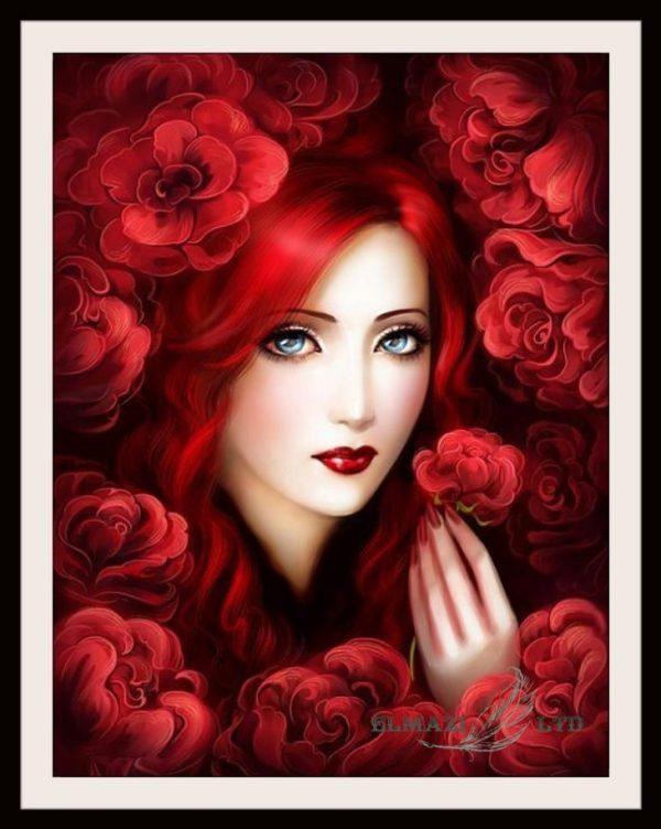 лицето на розата