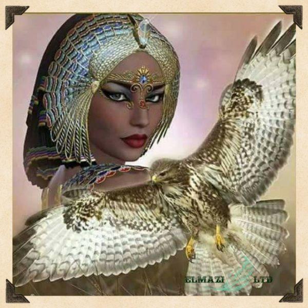 жената сокол ,диамантен гоблен,приказни,httpsdiamantengoblen.comproduktжената-сокол-№-н396 